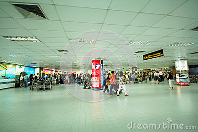 Phuket international baggage claim Editorial Photo