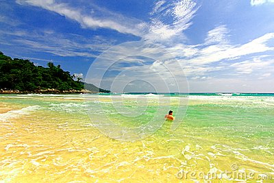 phuket sea thailand Editorial Stock Image