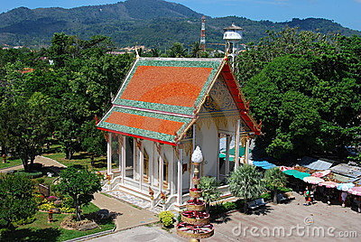 Phuket, Thailand: Abbot Temple at Wat Chalong Editorial Stock Image