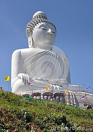 Phuket, Thailand: Big Buddha Editorial Stock Image