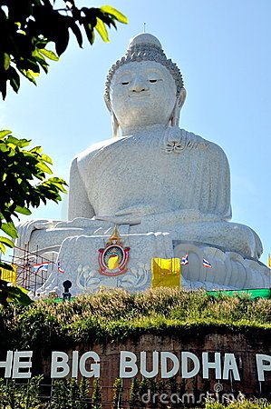 Phuket, Thailand: Big Buddha Statue Editorial Stock Photo
