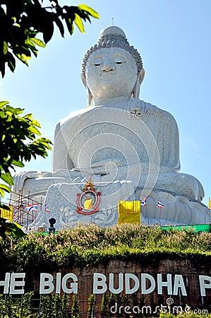 Phuket, Thailand: Big Buddha Statue Editorial Stock Photo