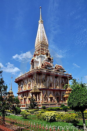 Phuket, Thailand: Wat Chalong Editorial Photography