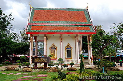 Phuket, Thailand: Wat Chalong Temple Editorial Photo