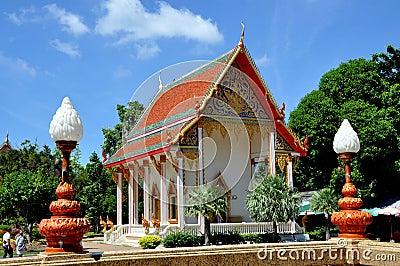 Phuket, Thailand: Wat Chalong Temple Editorial Photo