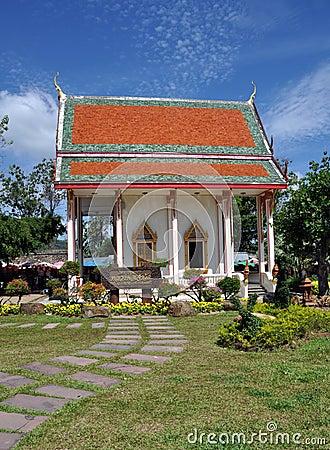 Phuket, Thailand:  Wat Chalong Temple Editorial Photography