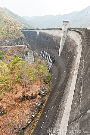 Phumiphol dam at Tak, Thailand