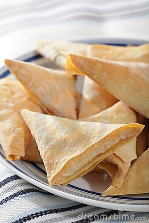 Free Phyllo Triangles Royalty Free Stock Photos - 22090738