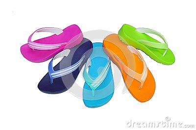 Phylon flip flop mix color
