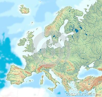 physical maps of ecuador. hair PHYSICAL MAP GEORGIA