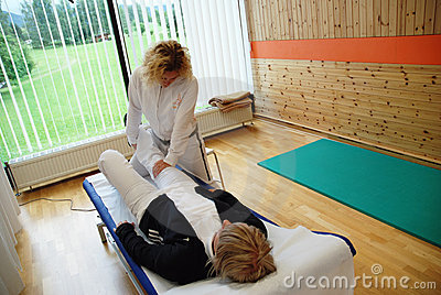 Physical therapy Editorial Stock Image