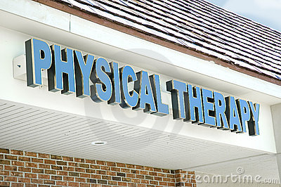 Physical therapy sign