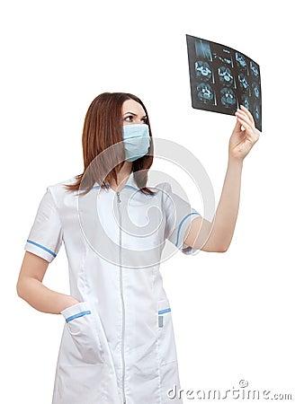 Physician radiologist