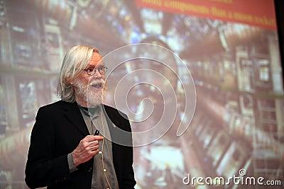 Physicist John Ellis Editorial Photography