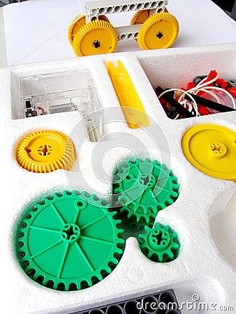 Physics assembling toy kit