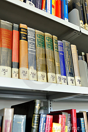 Physics books of knowledge Editorial Stock Image