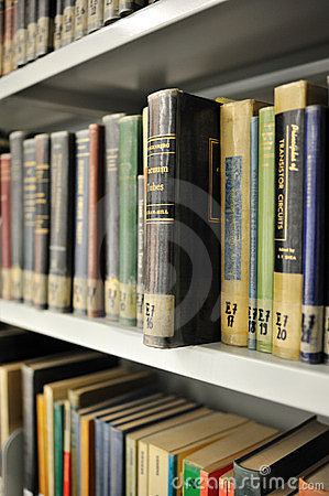 Physics library Editorial Stock Image