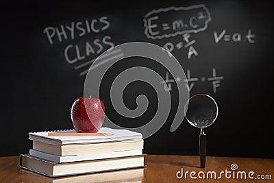 Physics class concept