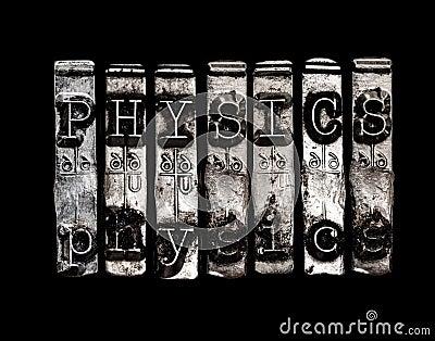 Physics word
