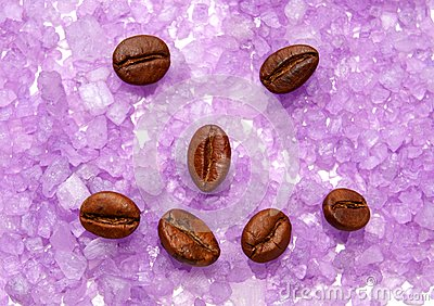 Physiognomy from coffee grains.