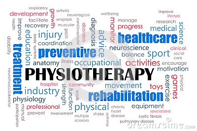 Physiotherapy concept