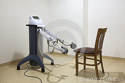Physiotherapy room in spa center