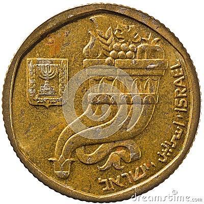 Pièce de monnaie de l Israël