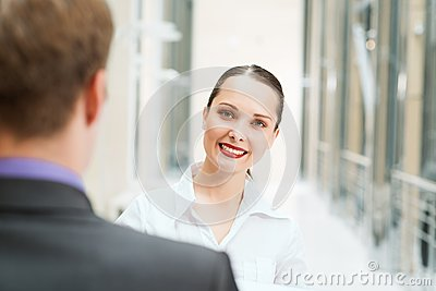 Piękna biznesowa kobieta