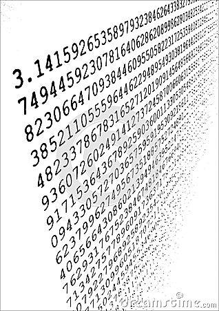 Pi π Stock Photo