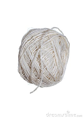 Piłka naturalny sznur