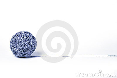 Piłka sznurek