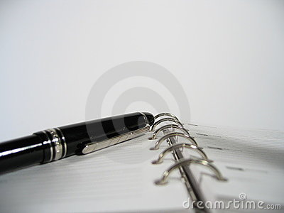 Pianificatore di appuntamento con la penna