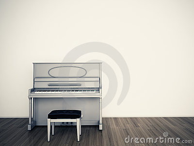 Pianio empty room