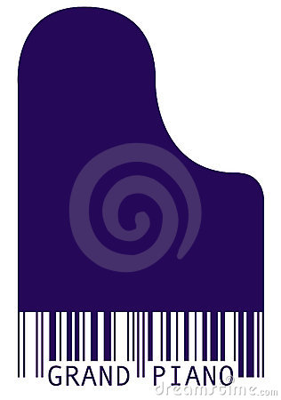 Piano Barcode