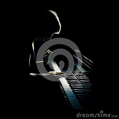 Free Piano Concert Stock Images - 24914424