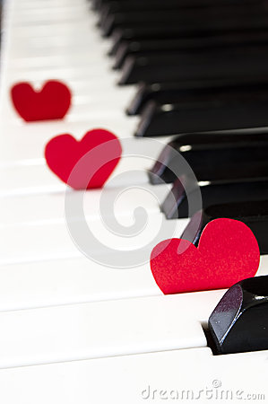 Piano love music