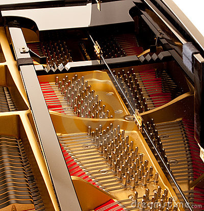 Piano magnífico interior