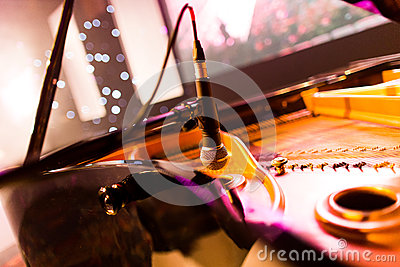Piano microphone