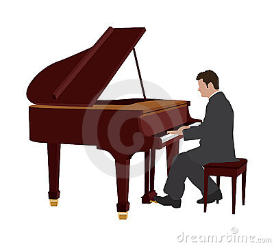 Piano Player Royalty Free Stock Photography Image 8660867