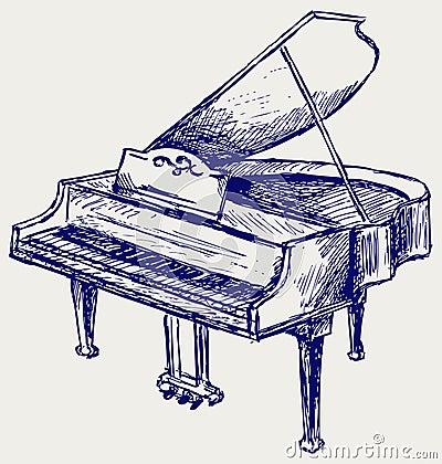 Piano sketch