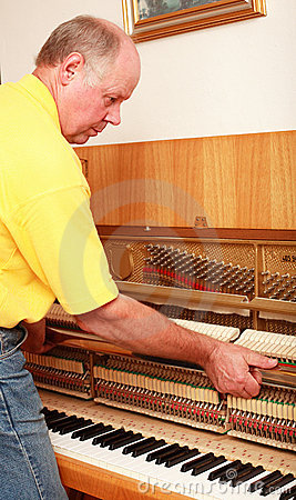 Free Piano Tuner Stock Images - 4088424