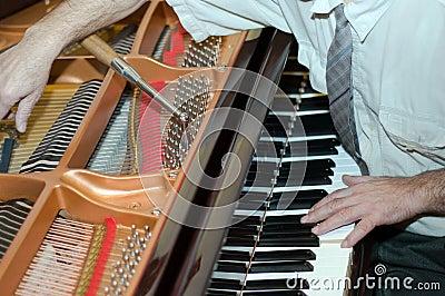 Piano tuning