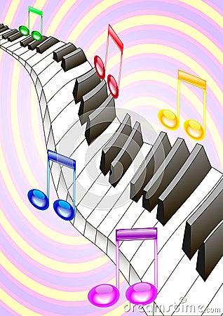 Piano y música