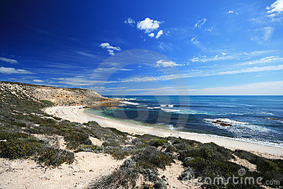 Piaska plażowy piękny biel