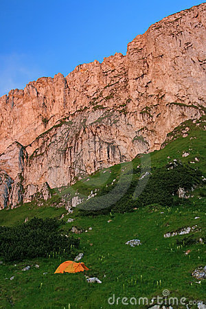 Piatra Craiului cliffs - Romania