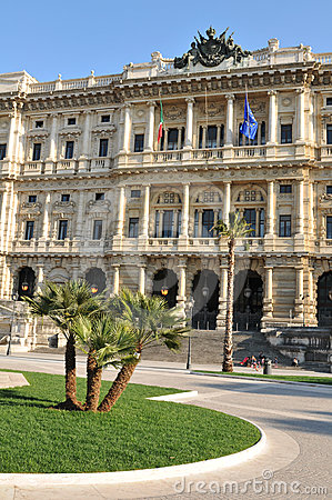 Piazza Cavour, Rome Editorial Stock Image