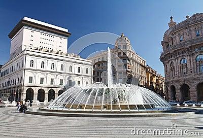 Piazza De Ferrari, Genova - De
