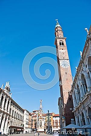 Piazza dei Signori in Vicenza