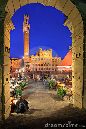 Free Piazza Del Campo, Siena, Italy Stock Photos - 22832193