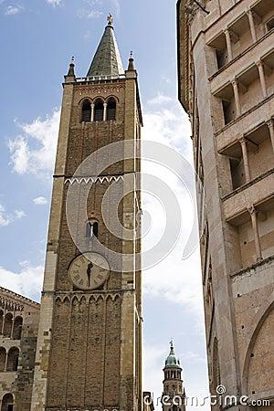 Piazza del Duomo in Parma